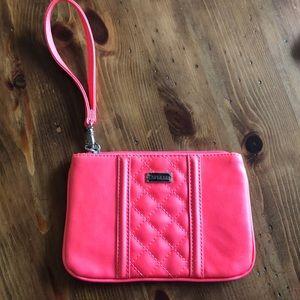 Express hot pink wristlet